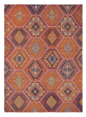 Orange Yara Nomad 33403 wool rug