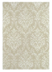 beżowy dywan w ornament Riverside Damask Parchment 46709