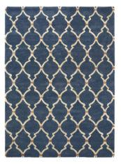dywan koniczyna marokanska Empire Trellis Indigo 45508