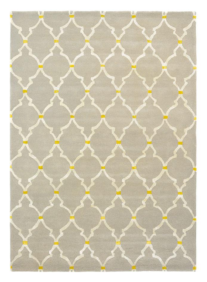 dywan koniczyna marokańska Empire Trellis Stone 45501
