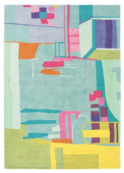 kolorowy dywan artystyczny Amal 19707