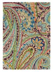 kolorowy dywan w kwiaty Kashmir Spice 46905