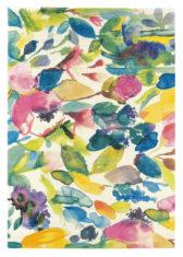 kolorowy dywan w kwiaty Mode 19507