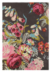 Stapleton Park Rosewood 45302 colorful floral carpet