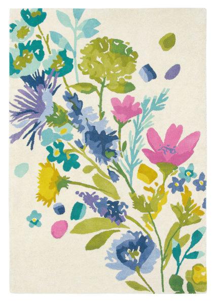 kolorowy dywan w kwiaty Tetbury Meadow 19201