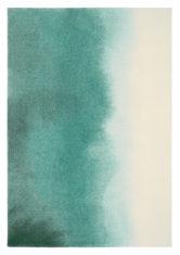 turkusowo beżowy dywan artystyczny Teal 18207