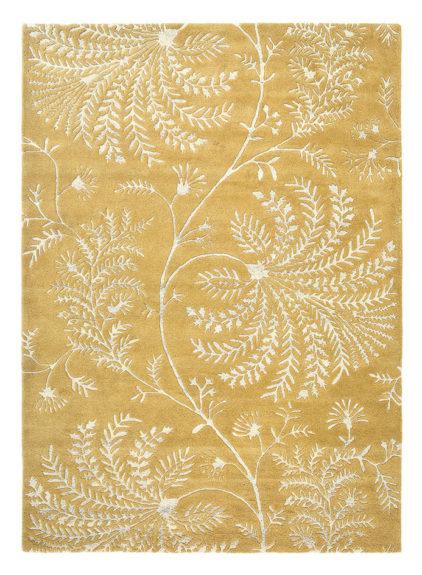 Żółty Dywan w Kwiaty - MAPPERTON LINEN 45906