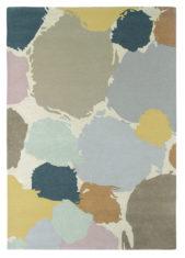beżowo szary dywan artystyczny Paletto Shore 44204