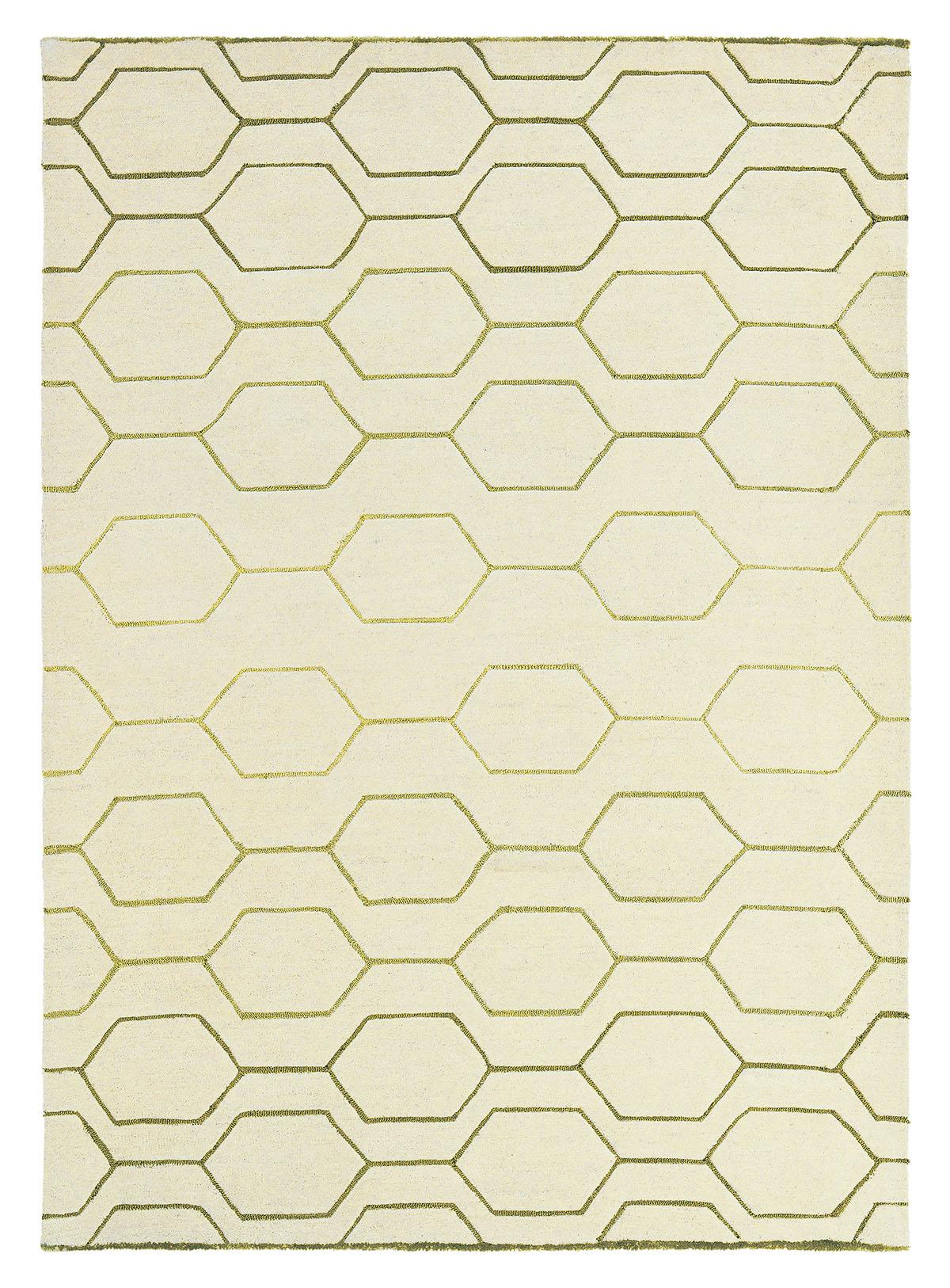 beżowy dywan geometryczny Arris Cream 37309