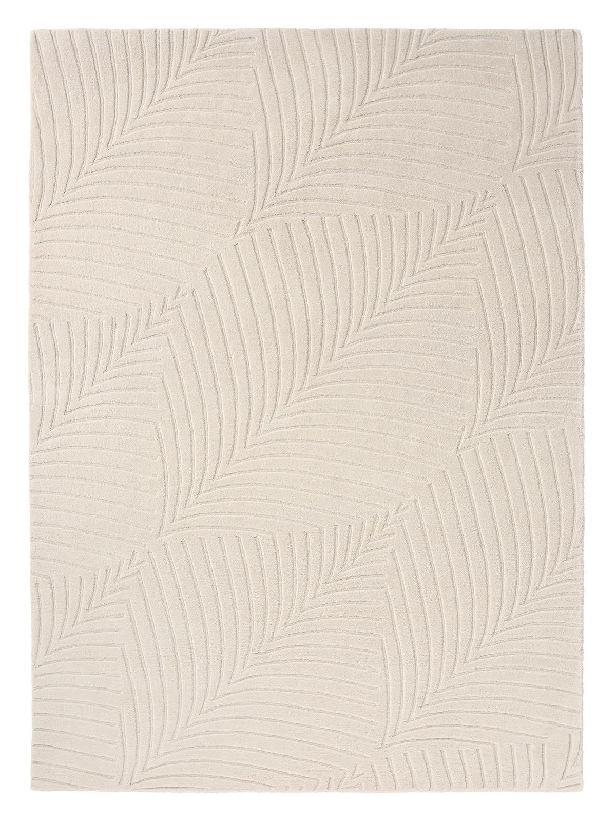 beżowy dywan geometryczny Folia Stone 38301