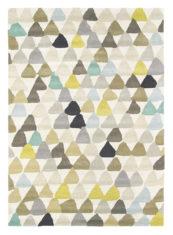 beżowy dywan geometryczny Lulu Pebble 44601