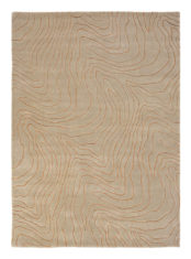 beżowy dywan nowoczesny Formation Copper 40804