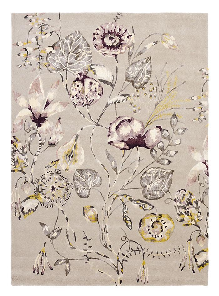 beżowy dywan w kwiaty Quintessence Heather 41801