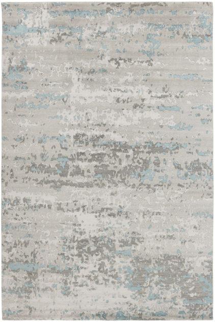 błękitno szary dywan ekskluzywny Temptation 7532