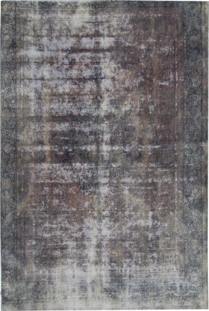 brązowy dywan perski Brown Grey 0687