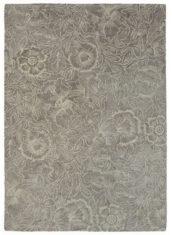 brązowy dywan w kwiaty Poppy Taupe 28405