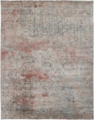 czerwono szary dywan ekskluzywny Seduction 740138