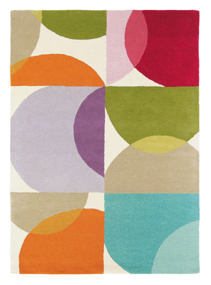 kolorowy dywan geometryczny Kaleido Pop 26000