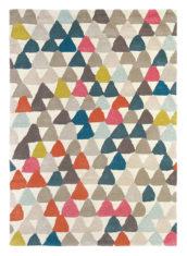 kolorowy dywan geometryczny Lulu Saffron 44603