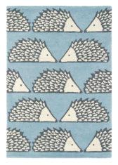 niebieski dywan dziecięcy Spike Marine 26808