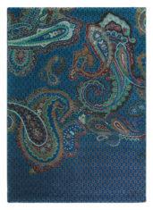 niebieski dywan nowoczesny Paisgeo Blue 58608