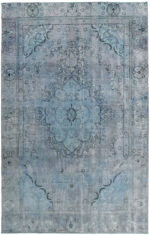 niebieski dywan perski Ice King 1008