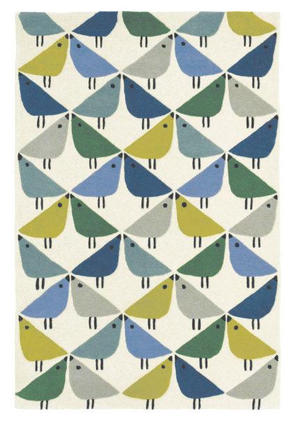 niebiesko beżowy dywan dzieciecy Lintu Pacific 24408