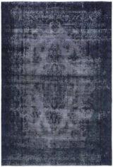 niebiesko fioletowy dywan perski Indygo King 1017