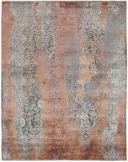 pomarańczowo szary dywan ekskluzywny Seduction 840234