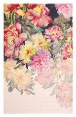 różowy dywan w kwiaty Maximil Pink 57902