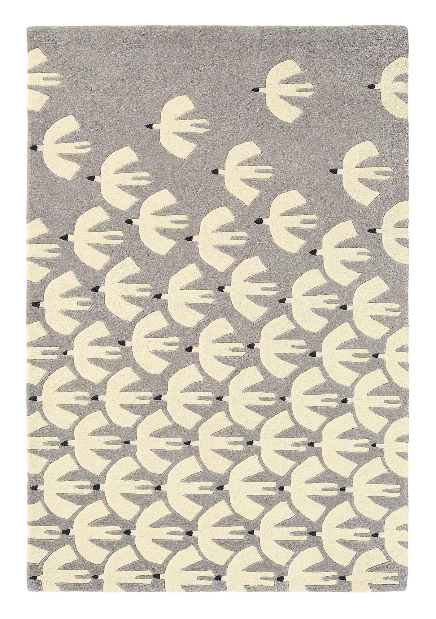 szaro beżowy dywan dziecięcy Pajaro Steel 23904