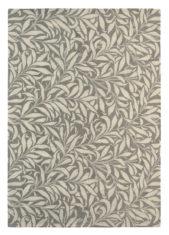 Szaro Beżowy Dywan w Kwiaty - WILLOW BOUGH MOLE 28304 - widok z góry