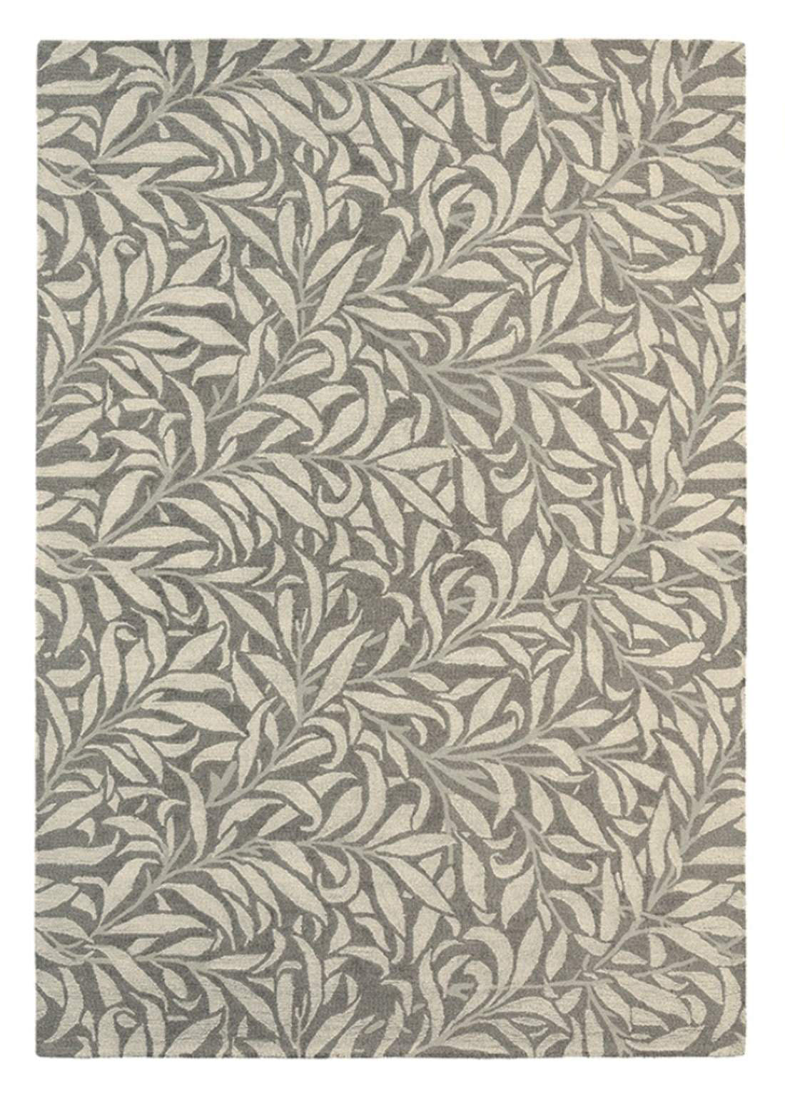 szaro beżowy dywan w kwiaty Willow Bough Mole 28304