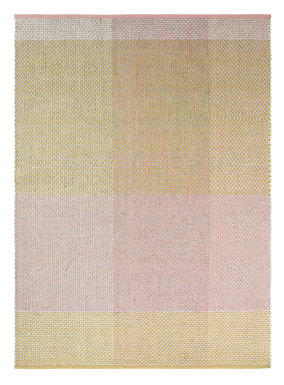zielono różowy dywan kilimowy Check Neutral 56402