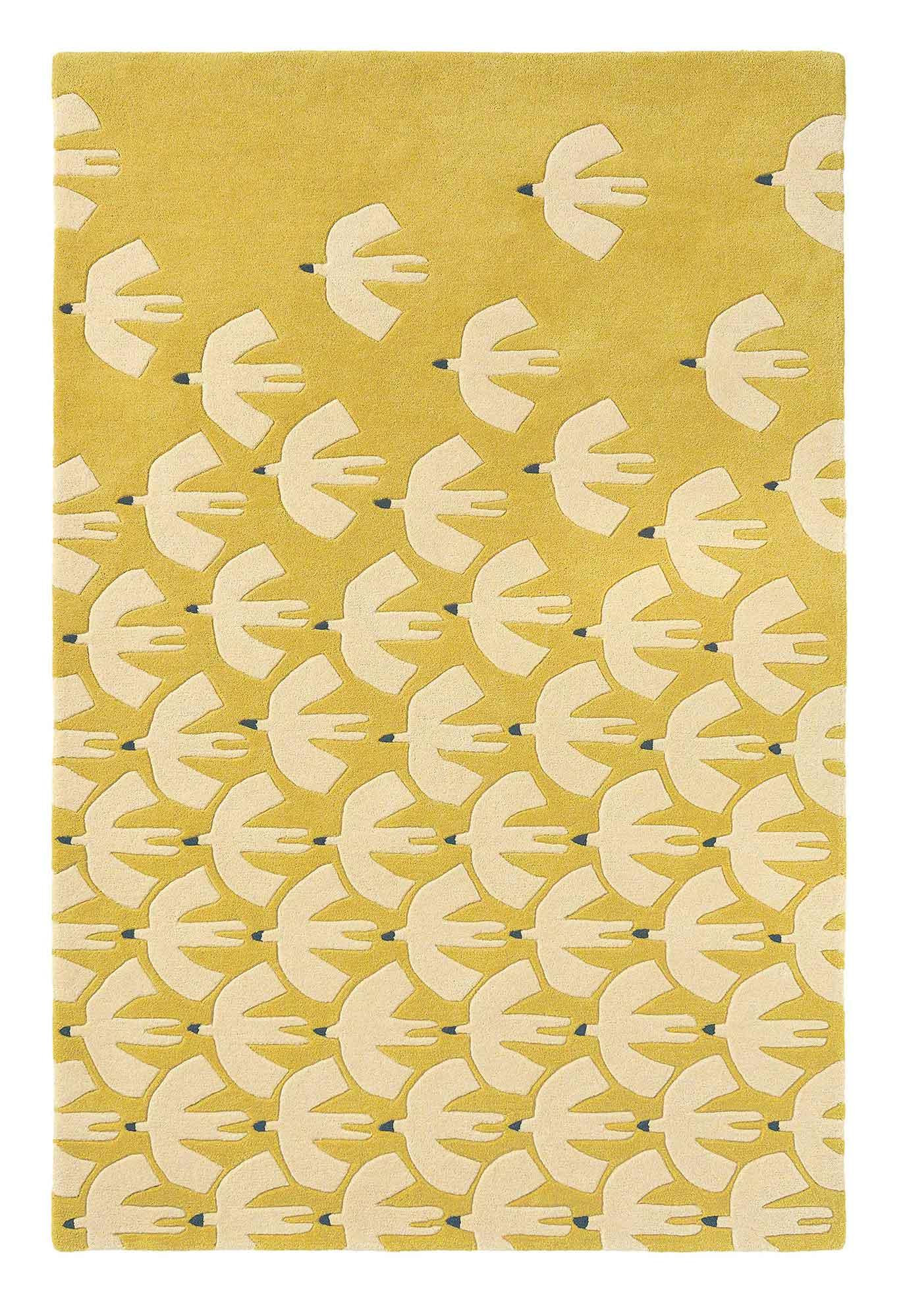 żółty dywan dziecięcy Pajaro Ochre 23906