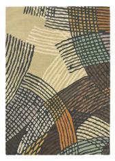 beżowo brązowy dywan nowoczesny Estella Shift 89304