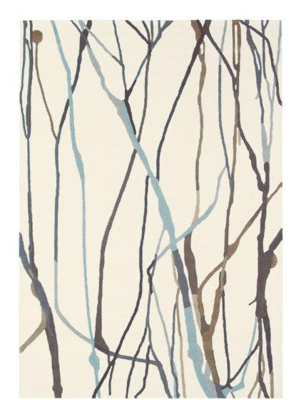 beżowy dywan nowoczesny Estella Drip 878104