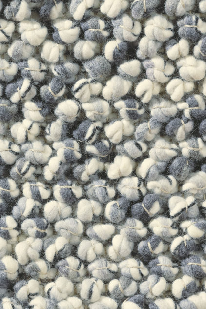 biało szary dywan pleciony Marble 29504