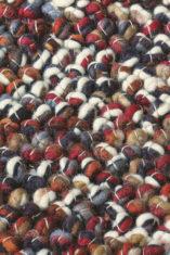 bordowy dywan pleciony Marble 29500