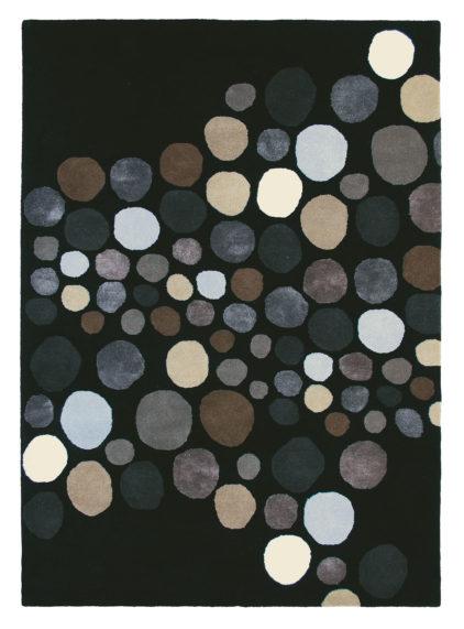 czarny dywan nowoczesny Estella Carnaval 85005