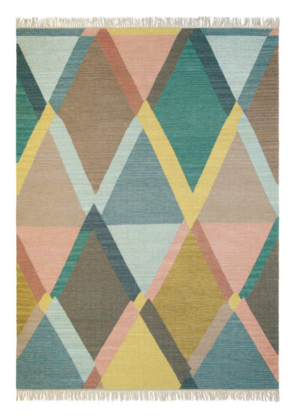 kilimowy dywan geometryczny Kashba Jewel 48307