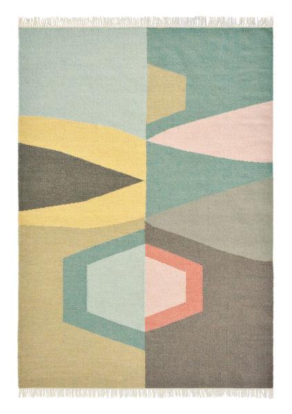 kilimowy dywan geometryczny Kashba Tipi 48907