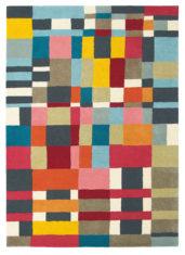 kolorowy dywan geometryczny Estella Domino 83901