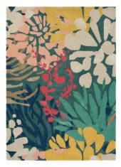 kolorowy dywan w kwiaty Estella Submarine 89408