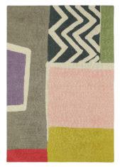szaro różowy dywan nowoczesny Estella Lagoon 89102