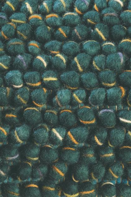 zielony dywan pleciony Cobble 29207