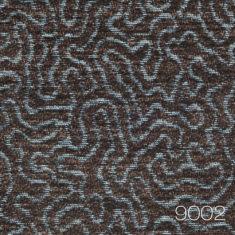 Coral 9002 - wykladzina wzor koralowca niebiesko brazowy