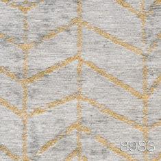 Jacob 8983 - wykładzina w jodełkę - beżowo złoty