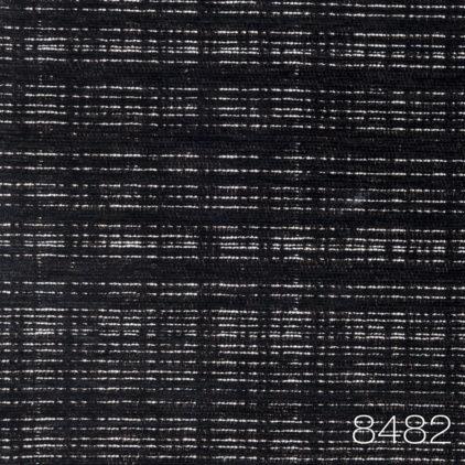 SoChic 8482 - wykładzina w kratke bialo czarna