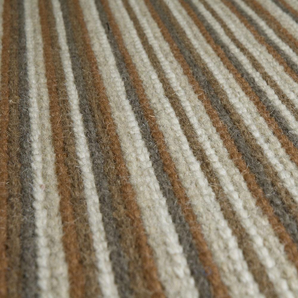 color net rustykalna wykladzina welniana w paski